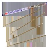 """Appelle l'Argent : Encens """" Call Money """" HEM ~ Étui Carré de 08 Bâtonnets"""