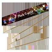 Black Crystal  : Encens Indien Satya ~ Boîte de 15 Grammes (13 Bâtonnets)