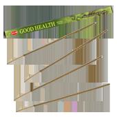 Bonne Santé / Good Health : Encens Indien HEM ~ Étui de 08 Bâtonnets
