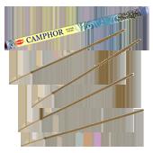 Camphre : Encens Indien HEM ~ Étui Carré de 08 Bâtonnets