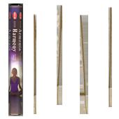 Harmonie Divine : Encens Indien HEM ~ Boîte Hexagonale de 20 Bâtonnets