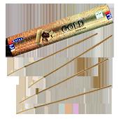 """Gold ("""" Or """") : Encens Indien Satya ~ Boîte de 15 Grammes (13 Bâtonnets)"""
