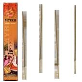 Myrrhe : Encens 100% Naturel Masala HEM ~ Étui de 12 Bâtonnets