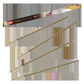 Gold Silver / Or et Argent : Encens Indien HEM ~ Étui de 08 Bâtonnets