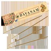 Organica Davanam : Encens Indien Goloka ~ Boîte de 15 Grammes (14 Bâtonnets)