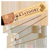Organica Kastoori : Encens Indien Goloka ~ Boîte de 15 Grammes (14 Bâtonnets)