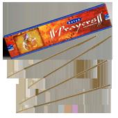 Prayers : Encens Indien Satya ~ Boîte de 20 Grammes (18 Bâtonnets)
