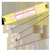 """Spiritual Healing ("""" Guérison Spirituelle """") : Encens Indien Satya ~ Boîte de 15 Grammes (13 Bâtonnets)"""