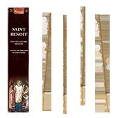 Saint Benoît : Encens Religieux ~ Étui de de 15 Grammes