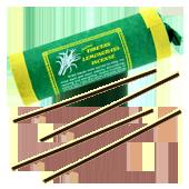 Lemongrass : Encens Tibétain à la Citronnelle ~ Étui de 30 Bâtonnets + 1 Porte-Encens