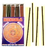 Mandala Tibetan Incense : Encens Tibétain ~ Étui de 60 Bâtonnets
