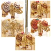 Porte-Encens � Éléphant � en Résine ~ Longueur : 8,00 cm - Hauteur : 5,50 cm