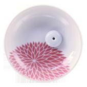 Porte-Encens Céramique � Chrysanthème � ~ Diamètre : 9,00 cm - Hauteur : 2,50 cm