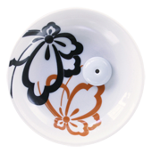 Porte-Encens Céramique � Papillon � ~ Diamètre : 9,00 cm - Hauteur : 2,50 cm