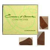 Anti Moustique Naturel Lemongrass : Boîte de 10 Cônes