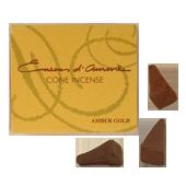 Ambre : Encens Indien d' Auroville ( Maroma ) ~ Boîte de 10 Cônes
