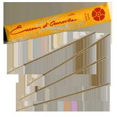 Oranger ( Fleurs d'Oranger ) : Encens Indien d' Auroville ( Maroma ) ~ Étui de 10 Bâtonnets