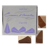 Vanille : Encens Indien d' Auroville ( Maroma ) ~ Boîte de 10 Cônes