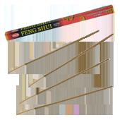 Feng Shui 5 en 1 : Encens Indien HEM ~ Étui de 8 Bâtonnets