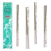 Eau - Jasmin : Encens Feng Shui Les Encens du Monde ~ Étui de 20 Bâtonnets