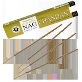 Golden Nag Chandan : Encens Indien Vijayshree ~ Étui de 15 Grammes