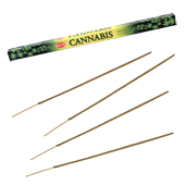 """Cannabis : Encens """" Cannabis """" HEM ~ Étui de 8 Bâtonnets"""