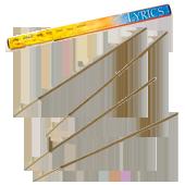 Lyrics : Encens Indien Padmini ~ Boîte de 8 Bâtonnets