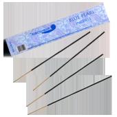 Perle Bleue : Encens Indien Auroshikha ~ Sachet de 10 Bâtonnets