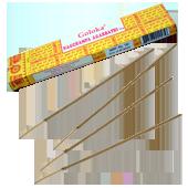 Nag Champa : Encens Indien Goloka ~ Boîte de 16 Grammes (15 Bâtonnets)