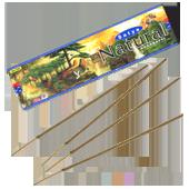 Natural : Encens Indien Satya ~ Boîte de 45 Grammes (15 Bâtonnets)