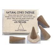 Nag Champa : Encens Tibétain ~ Boîte de 25 Cônes + 1 Porte-Encens