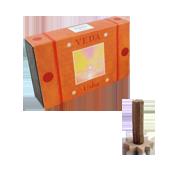 Usha : Encens Indien Veda ( Maroma ) ~ Boîte de 10 Cônes + 1 Porte-Encens