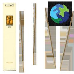 """Encens d' Auroville d' Aromathérapie """" Été Indien """" ~ Étui de 12 Bâtonnets"""