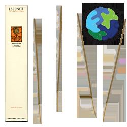 """Encens d' Auroville d' Aromathérapie """" Méditation """" ~ Étui de 12 Bâtonnets"""