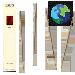"""Encens d' Auroville d' Aromathérapie """" Résistance """" ~ Étui de 12 Bâtonnets"""