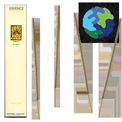 """Encens d' Auroville d' Aromathérapie """" Vitalité """" ~ Étui de 12 Bâtonnets"""