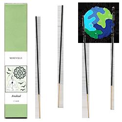 "Anāhata : Encens Ayurvédique du Chakra "" Anāhata "" ~ Étui de 12 Bâtonnets."