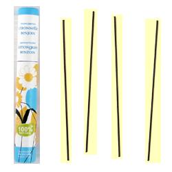 Citronnelle + Benjoin : Encens Japonais Les Encens du Monde ~ Étui de 30 Bâtonnets