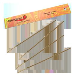 Geranium : Encens Indien Auroshikha ~ Étui de 10 Grammes