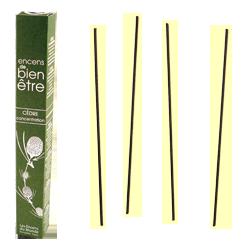 Cèdre : Encens Japonais Les Encens du Monde ~ Boîte de 30 Bâtonnets