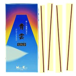 Seiun Gold : Encens Japonais Nippon Kodo ~ Boîte de 240 Bâtonnets