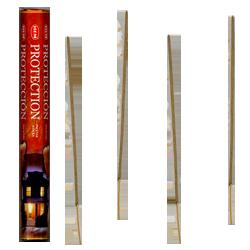 Protection : Encens Indien HEM ~ Boîte Hexagonale de 20 Bâtonnets