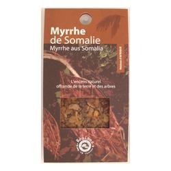 Myrrhe : Résine Les Encens du Monde ~ Sachet de 50 Grammes