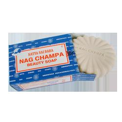 Savonnette Nag Champa de ±150 grammes.