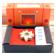 Agni : Encens Indien Veda ( Maroma ) ~ Boîte de 10 Cônes + 1 Porte-Encens