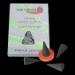 Lavande : Encens Indien Auroshikha ~ Boîte de 14 Cônes + 1 Porte-Encens