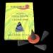 Patchouli : Encens Indien Auroshikha ~ Boîte de 14 Cônes + 1 Porte-Encens