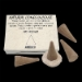 Ambre : Encens Tibétain ~ Boîte de 25 Cônes + 1 Porte-Encens