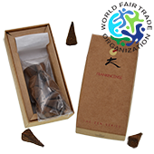 "Encens d' Auroville "" Frankincense "" (à l'Oliban) ~ Boîte de 10 Cônes"