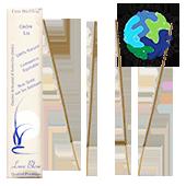 Cèdre + Lis : Encens Indien d' Auroville au Cèdre et au Lis Blanc ( Tim Baillou ) ~ Étui de 10 Bâtonnets